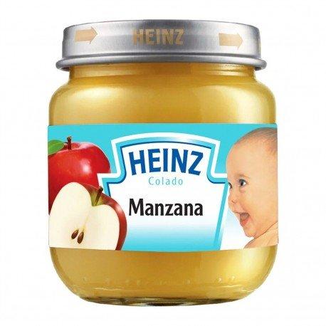 COMPOTA HEINZ MANZANA 113G