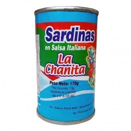 SARDINAS EN SALSA ITALIANA...